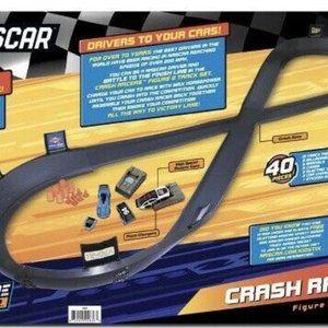 Nascar Other - Nascar Adventure Force Crash Racers 8 Track & Car